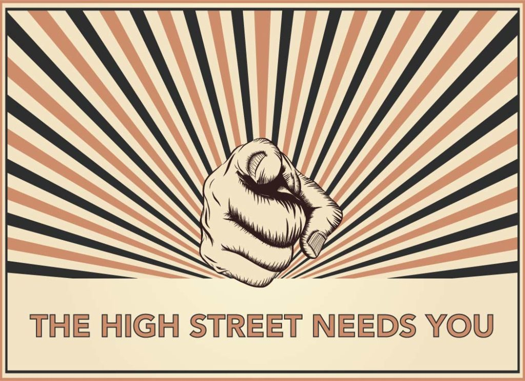 The High Street Needs You! Thoughts of a Shop Fitter