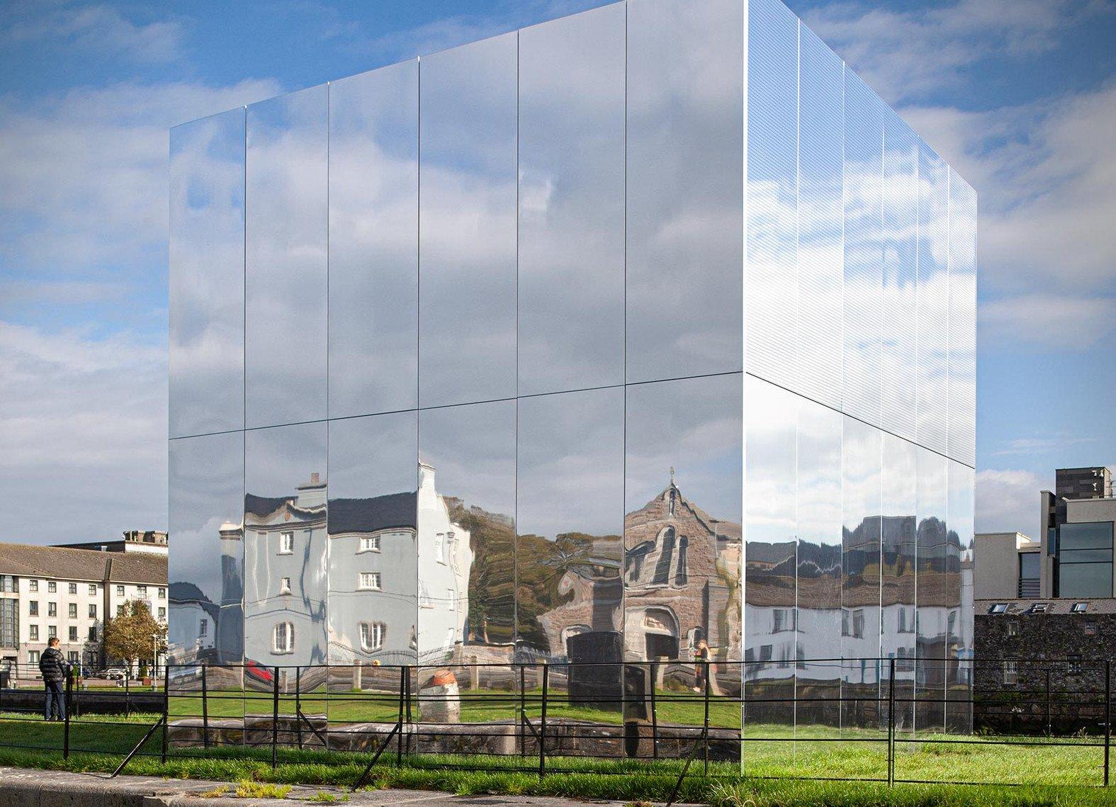 Facade Project Mirror Pavilion, Galway, Ireland